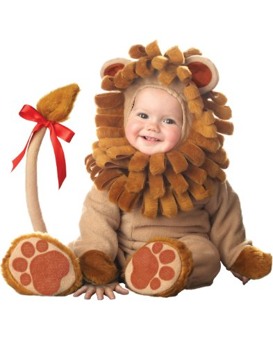 (InCharacter Costumes Baby's Lil' Lion Costume, Tan,)