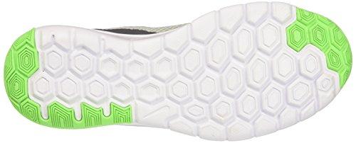 wht Vltg Experience Flex Grey Grn Multicoloured Running GS Shoe Wolf Grn Kids 4 lcd Unisex NIKE xHPtZP