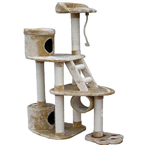 GoPetClub Cat Scratcher and 59-inch Cat Tree