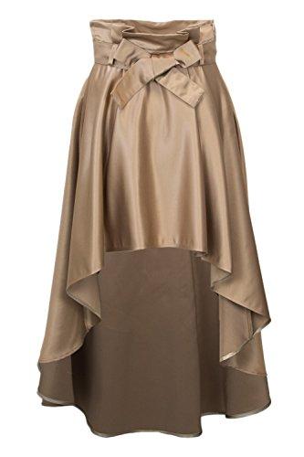CFC0086432003BEIGE Jupe Femme Beige Coton Rinascimento znx5qYnS