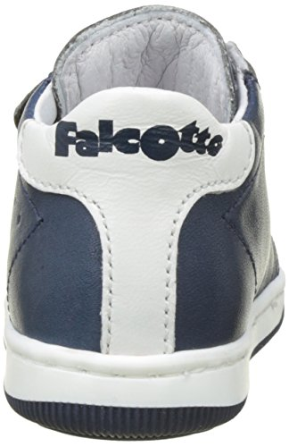 Naturino Falcotto New Smith Vl - Zapatos de primeros pasos Bebé-Niñas Bleu (Navy Bianco)