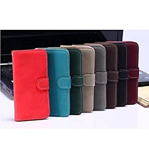 Mini - Special Design PU Leather Case with Slot Card and Stand for iPhone5/5S , Color: N