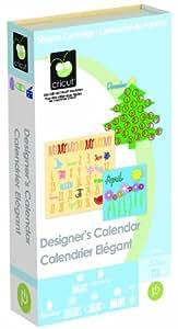 Cricut Cartridge, Designer's Calendar