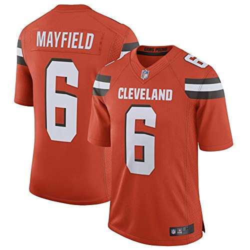 #6 Baker Mayfield Cleveland Browns Limited Jersey - Orange XXL