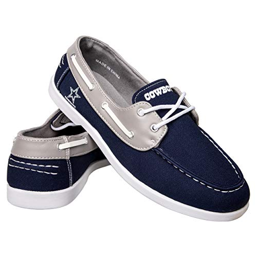 FOCO NFL Mens Side Logo Canvas Shoe - Mens, Dallas Cowboys, Small