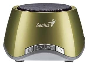 Genius SP-I320 - Altavoces portátiles de 2 W,color oliva