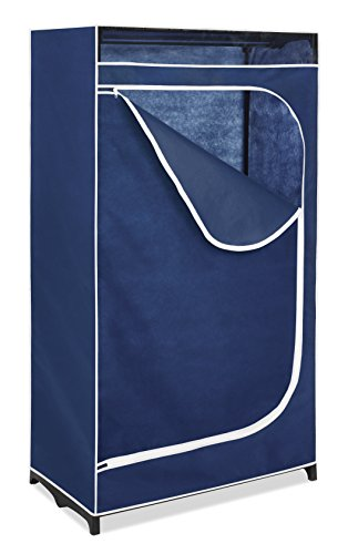 Whitmor Clothes Closet - Freestanding Garment Organizer with Sturdy Fabric (Rolling Closet)