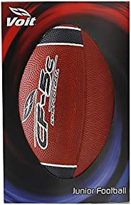 Voit Junior Rubber Football Red with Black Stripes and Lettering