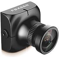 Crazepony FPV Camera Foxeer HS1177 V2 600TVL Camera 2.8mm Lens HAD II CCD NTSC IR Block Built-in OSD MIC for Multicopter Black
