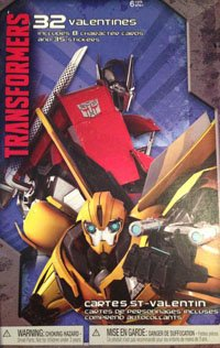 (American Greetings Transformers Valentines Day Trading Cards Set, 32 Included + More!)