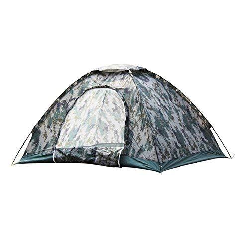 JIE Guo Outdoor Produkte Outdoor Geeignet für 2 Personen Verwenden Sie Sport Zelte, Camouflage Camping Camping Strand Outdoor Zelte, Wasserdichte Oxford Tuch Wasserdicht