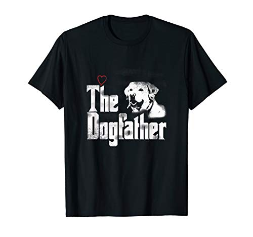 Mens The Dogfather Shirt | Labrador Dad Tshirt | Fathers for sale  Delivered anywhere in USA