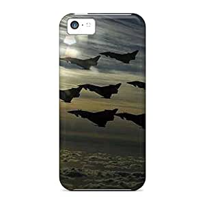 Premium Protection Aircraft Case Cover For Iphone 5c- Retail Packaging