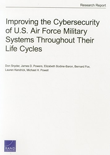 Improving the Cybersecurity of U.S. Air Force Military Systems Throughout Their Life Cycles
