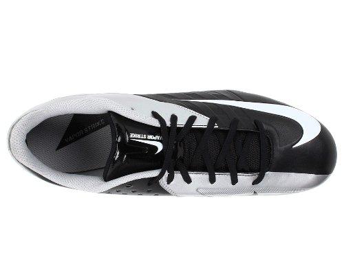 Scarpe Da Tennis Nike Mens Court Lite Nero / Argento Metallizzato / Bianco