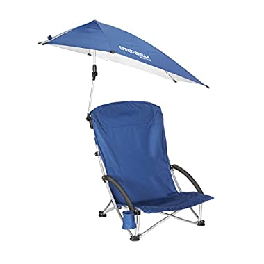 Sport-Brella Beach Chair, Blue