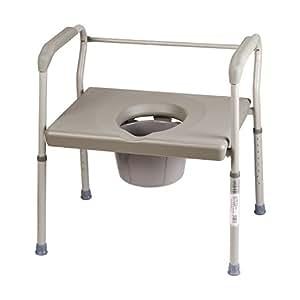 Amazon.com: Silla con orinal Duro-Med, silla de inodoro ...