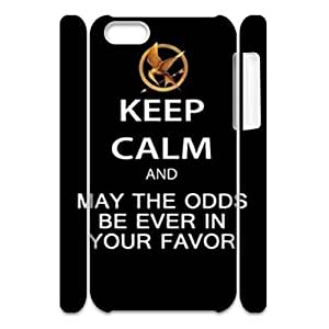 Personalized Durable 3D Case Cover for iPhone 5C with Brand New Design The Hunger Games
