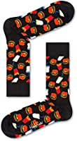 Happy Socks, Colorful Premium Cotton Food Themed Socks for Men and Women