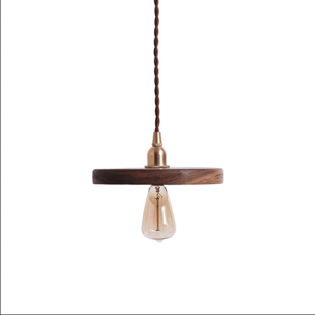 UNU_YAN Luz Pendiente Moderna, luz de Techo Moderna Simple Restaurante de una Sola Cabeza de la lámpara Adecuado for Sala de Estar (Size : M)