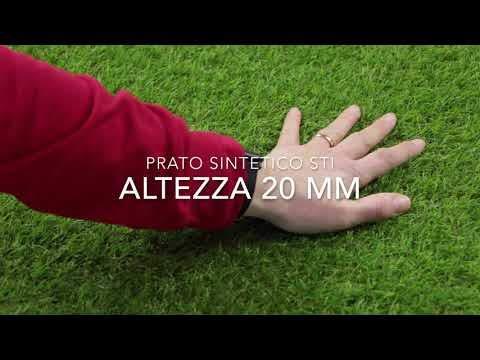 STI Prato Sintetico 30mm Finta Erba Tappeto Manto Giardino 4 Sfumature Colore 2×5