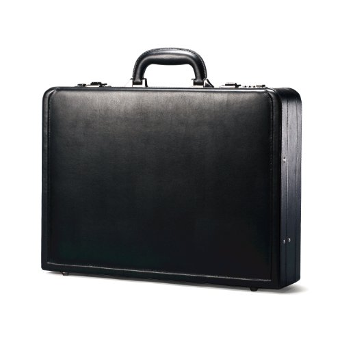 Samsonite Bonded Leather Attache, (Case Bonded Leather)