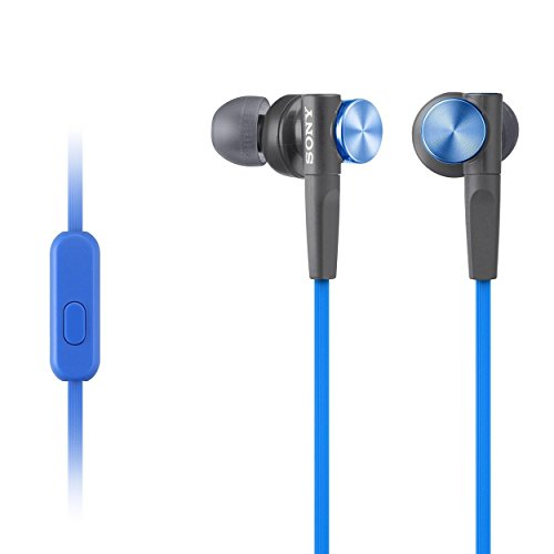 Sony MDRXB50AP Extra Bass Earbud Headset - Extra Earbud Headphones Bass
