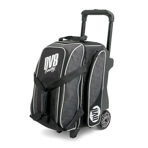 DV8 Circuit Double Roller Bowling Bag, Grey