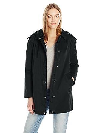 Amazon.com: Tommy Hilfiger Women's Aline Swing Coat: Clothing