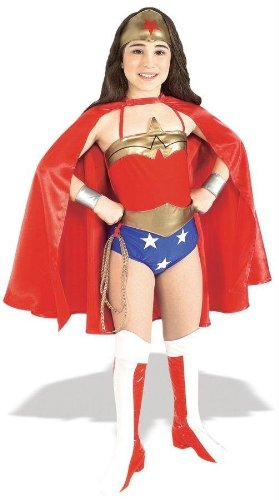 Wonder Woman Costume For 11 Year Olds (Wonder Woman Child Costume - Small)