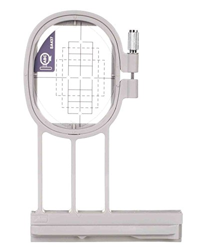 Sew Tech Small Embroidry Hoop 1'' x 2.5'' (20x60mm) - Brother, Baby Lock (SA437) (EF73) by SewTech