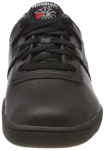 Fitness Reebok Grey int De 000 light Workout black Noir Chaussures Homme 40 Low Eu 5 qxnwIvxfF