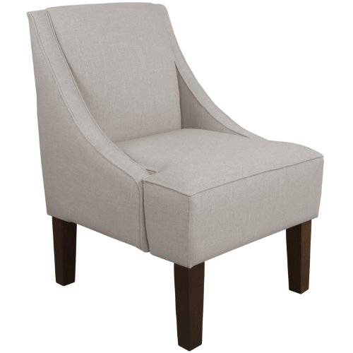 Skyline Furniture Swoop Arm Chair, Napa Pewter