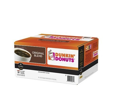 Dunkin Donuts Original Blend Pods K-Cup Pods, Pack Of Three (162 Count) by Dunkin' Donuts