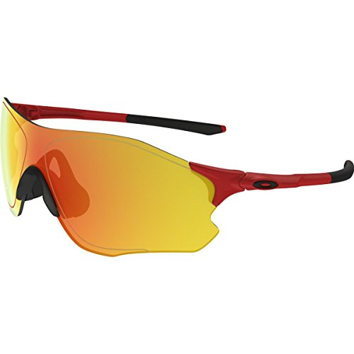 Oakley Men's Evzero Path Non-Polarized Iridium Rectangular Sunglasses, Infrared, 38 - Infrared Sunglasses