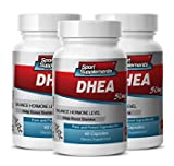 Product review for energy supplement natural - DHEA 50MG - libido booster - 3 Bottles (180 Capsules)