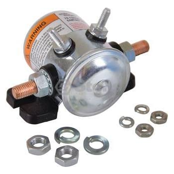 amazon.com: ezgo 27855g01 solenoid-36 volt #124 series ... 1985 36 volt club car wiring diagram 36 volt starter solenoid wiring diagram