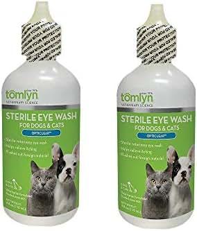 Tomlyn Opticlear Veterinary Eye Wash (2 Pack)