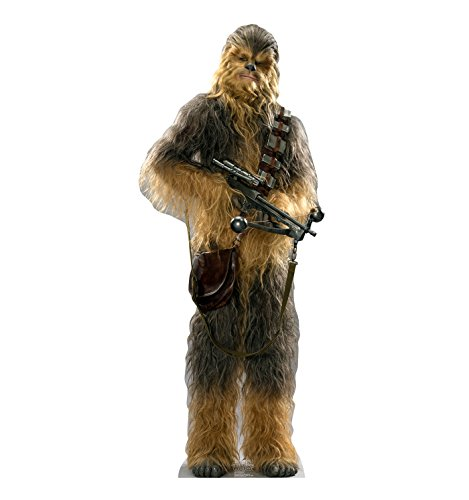 Advanced Graphics Chewbacca Life Size Cardboard Cutout Standup - Star Wars Episode VII: The Force Awakens -