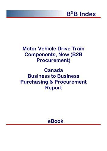 Motor Vehicle Drive Train Components, New (B2B Procurement) in Canada: B2B Purchasing + Procurement Values