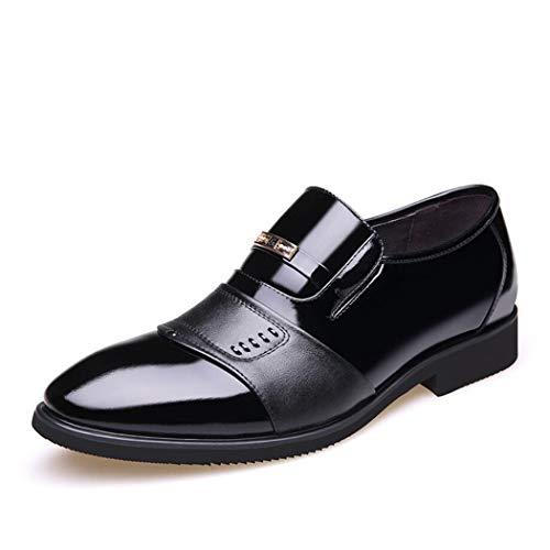 Boda B Cuero Para Bajos Hombre Botas Desgaste Puntiagudos Zapatos Trabajo Vestir Los De Banquete Hombres Flysxp Negocios q1Ya6