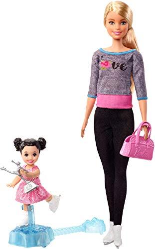 Barbie Ice Skating Coach Doll & ...