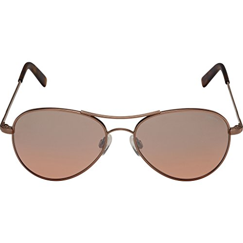 Randolph Engineering Amelia 23K Choc Gold Sunglasses | Sahara Metallic Nylon Ar Skull 57MM - Sunglasses Ny&c