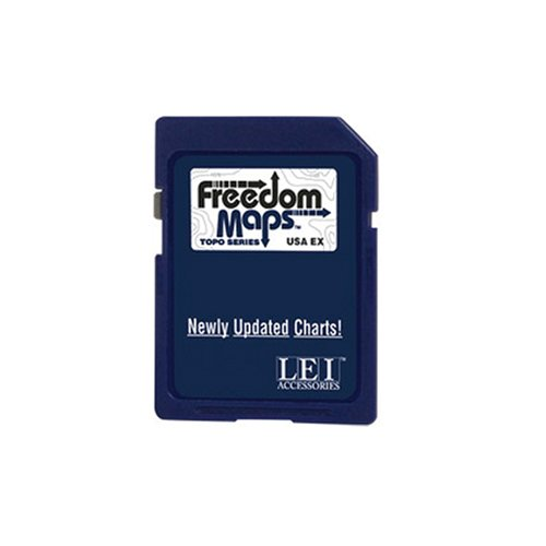 Lowrance Freedom Map Topo F67 Map micro SD Card