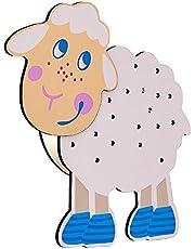 Jack Mall Lámpara de Pared de Modelado de Animales de Dibujos Animados, Moderna lámpara de protección de Ojos Creativa, Utilizada para niños y niñas Dormitorio Princesa