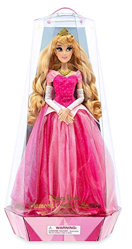 41ZRzd 6WFL Sleeping Beauty - Diamond Castle Collection Aurora Doll - Limited Edition - 20.5 Inches