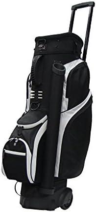 Tour Edge Male Exotics Xtreme4 Cart Bag Men s, Exotics Extreme 4 Cart Bag Black White