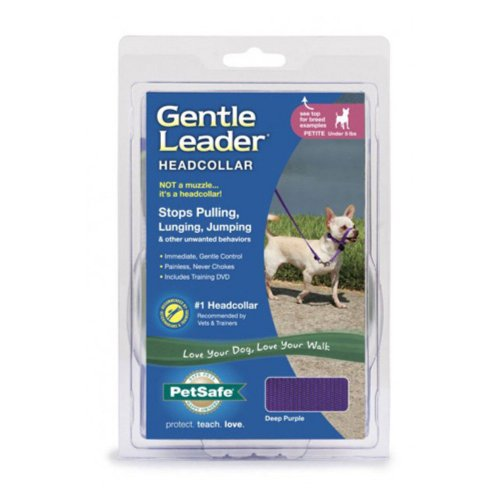 PetSafe Gentle Leader Deluxe Headcollar, X-Large, Bones On Squares