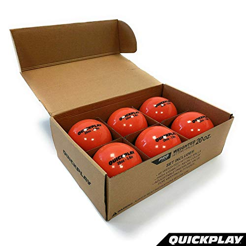 QuickPlay Weighted Hitting Ball Range (20oz - Set of 6)
