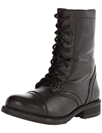 Steve Madden Women's Troopa2.0 Combat Boot